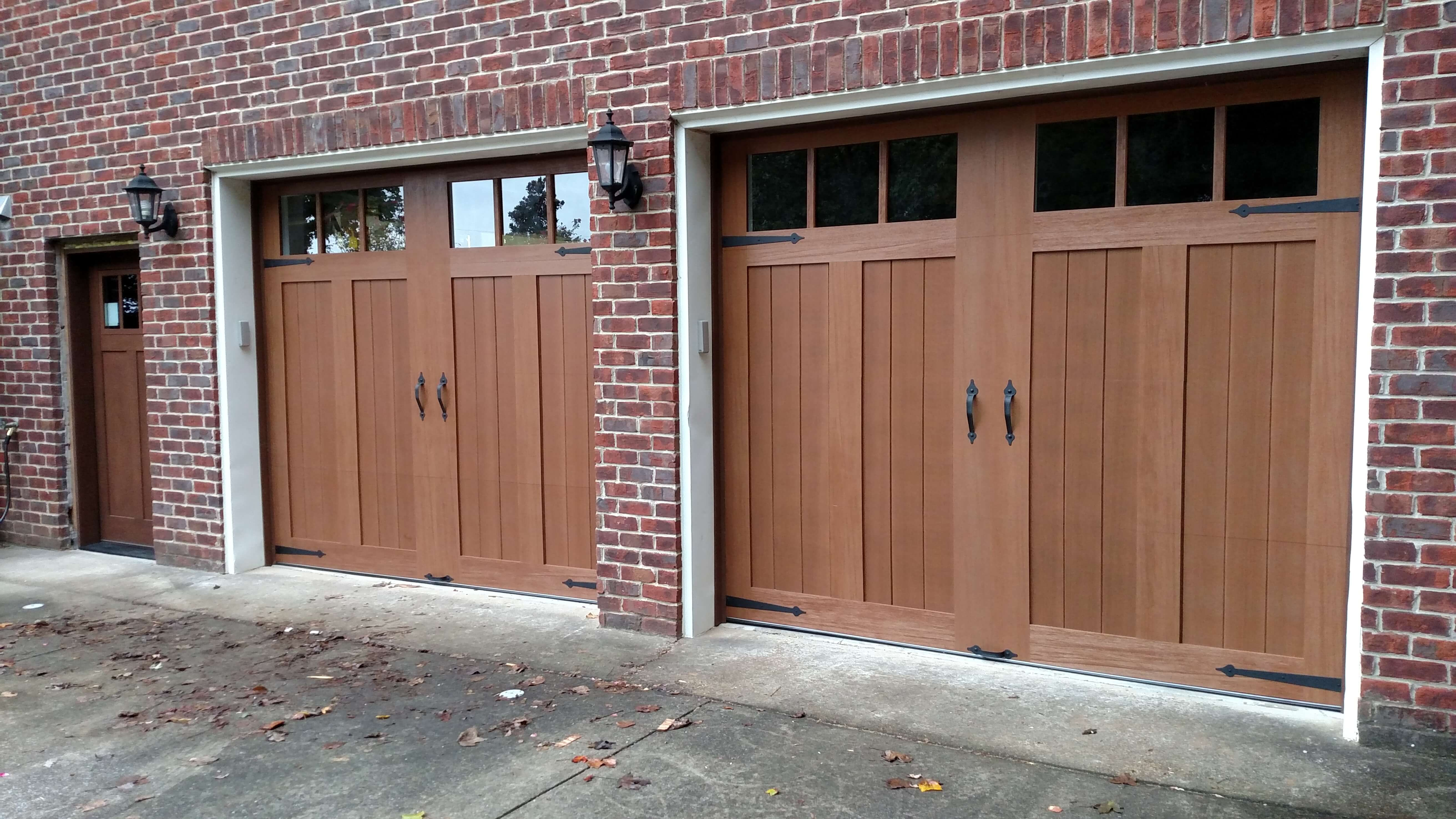 Composite Wood Garage Door