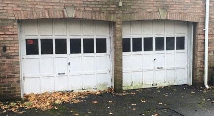 New Life To An Old Garage Door